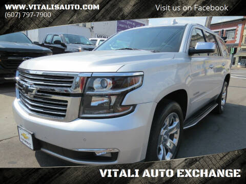 2015 Chevrolet Tahoe for sale at VITALI AUTO EXCHANGE in Johnson City NY