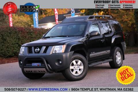 2006 Nissan Xterra for sale at Auto Sales Express in Whitman MA