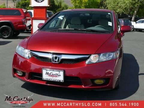 2011 Honda Civic for sale at McCarthy Wholesale in San Luis Obispo CA