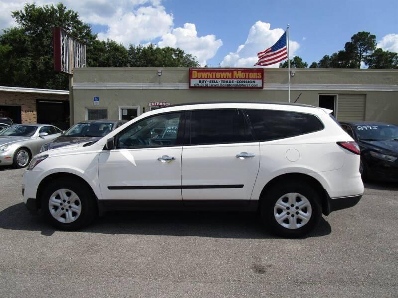 2015 Chevrolet Traverse for sale at DERIK HARE in Milton FL