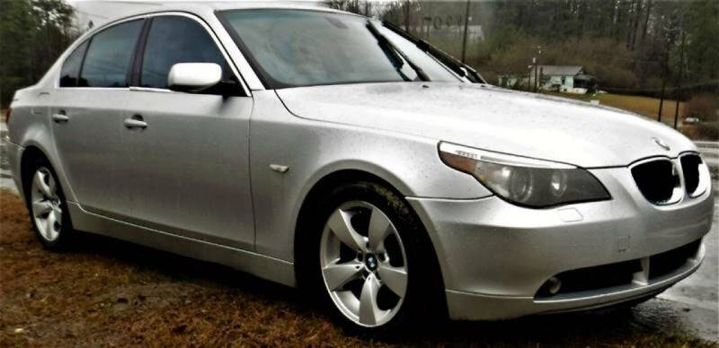 2006 BMW 5 Series for sale at Anaheim Auto Auction in Irondale AL