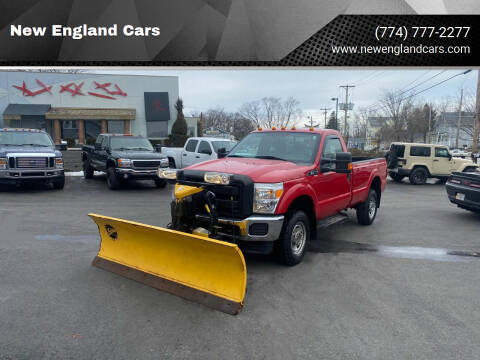2014 Ford F-350 Super Duty for sale at New England Cars in Attleboro MA