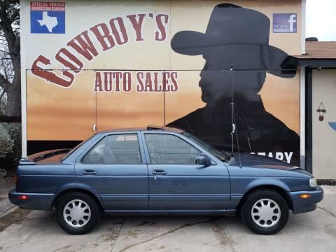 1992 Nissan Sentra for sale at Cowboy's Auto Sales in San Antonio TX