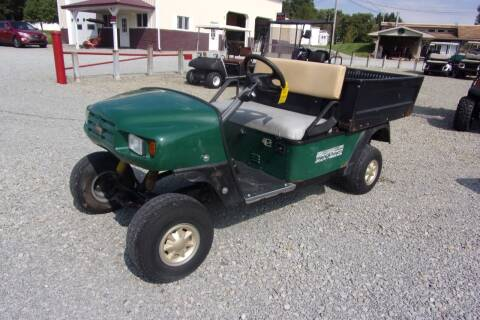 2001 EZGO Utility Cart Workhorse Power Dump Gas for sale at Area 31 Golf Carts - Gas 2 Passenger in Acme PA