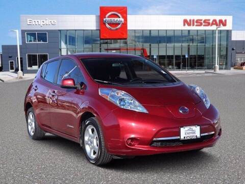 2013 Nissan LEAF for sale at EMPIRE LAKEWOOD NISSAN in Lakewood CO