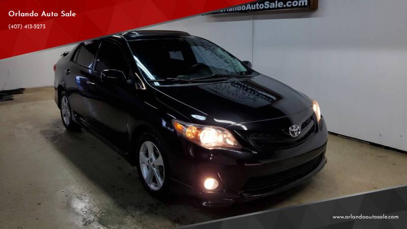 2011 Toyota Corolla for sale at Orlando Auto Sale in Orlando FL