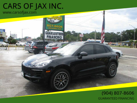 2015 Porsche Macan for sale at CARS OF JAX INC. in Jacksonville FL