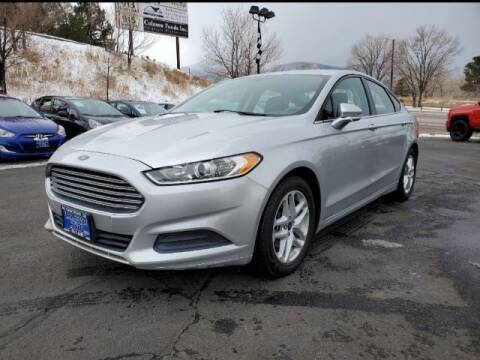 2014 Ford Fusion for sale at Lakeside Auto Brokers in Colorado Springs CO