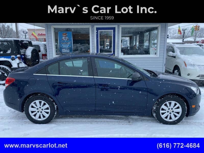 2011 Chevrolet Cruze for sale at Marv`s Car Lot Inc. in Zeeland MI