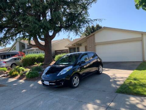 2012 Nissan LEAF for sale at Blue Eagle Motors in Fremont CA