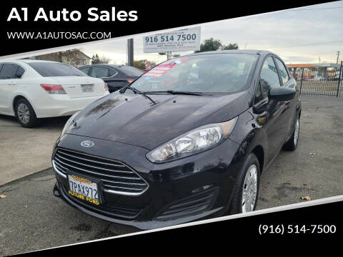2016 Ford Fiesta for sale at A1 Auto Sales in Sacramento CA