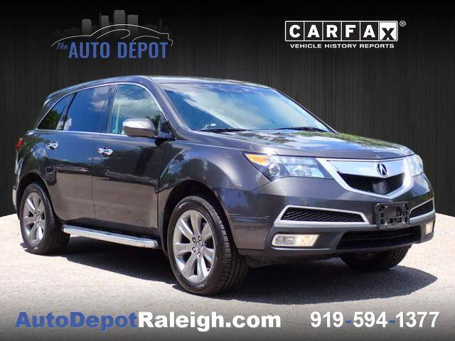 2010 Acura MDX for sale at The Auto Depot in Raleigh NC