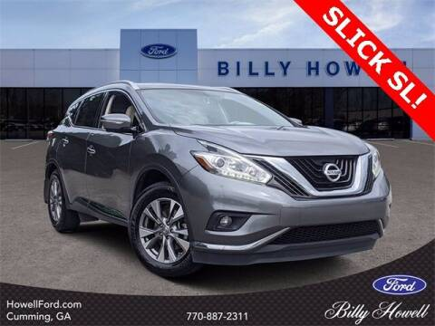 2015 Nissan Murano for sale at BILLY HOWELL FORD LINCOLN in Cumming GA