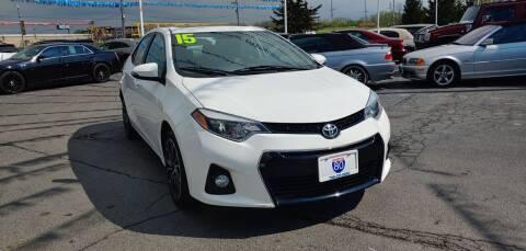 2015 Toyota Corolla for sale at I-80 Auto Sales in Hazel Crest IL