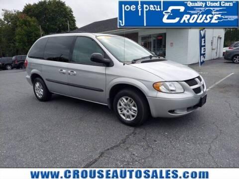 2003 Dodge Caravan for sale at Joe and Paul Crouse Inc. in Columbia PA