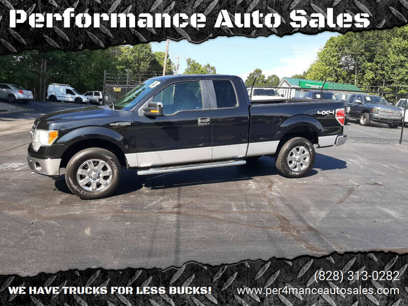 2013 Ford F-150 for sale at Performance Auto Sales in Hickory NC