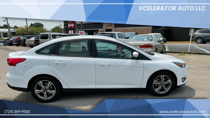 2017 Ford Focus for sale at Xcelerator Auto LLC in Indiana PA