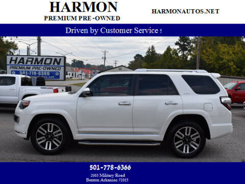 2018 Toyota 4Runner for sale at Harmon Premium Pre-Owned in Benton AR