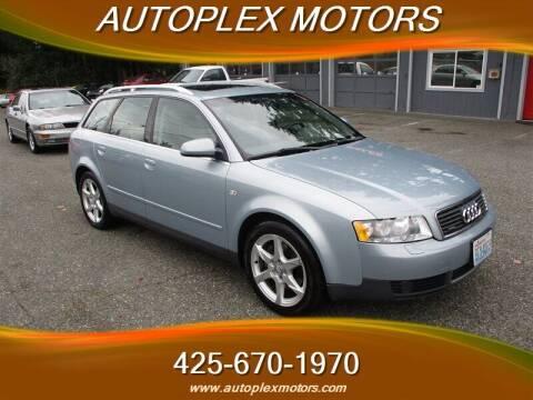 2002 Audi A4 for sale at Autoplex Motors in Lynnwood WA