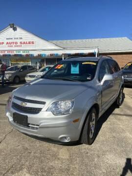 2012 Chevrolet Captiva Sport for sale at Top Auto Sales in Petersburg VA