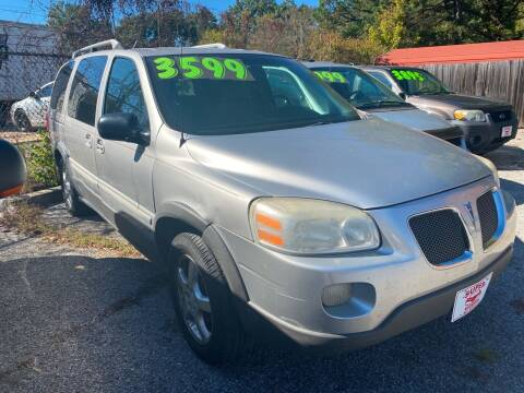 2006 Pontiac Montana SV6 for sale at Super Wheels-N-Deals in Memphis TN