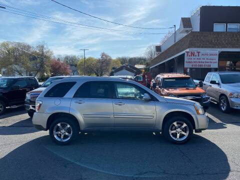 2007 Chevrolet Equinox for sale at TNT Auto Sales in Bangor PA