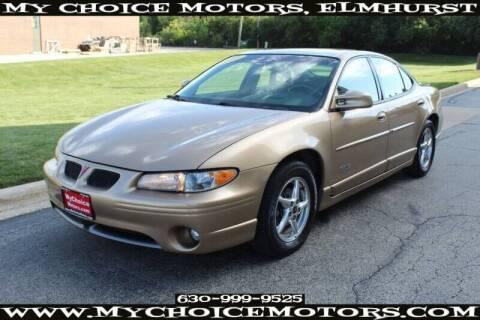 1999 Pontiac Grand Prix for sale at My Choice Motors Elmhurst in Elmhurst IL