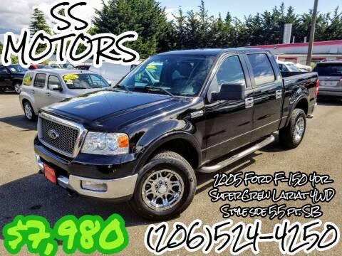 2005 Ford F-150 for sale at SS MOTORS LLC in Edmonds WA