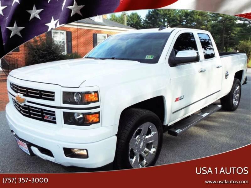 2015 Chevrolet Silverado 1500 for sale at USA 1 Autos in Smithfield VA