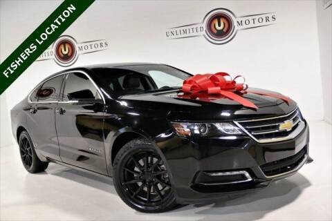 2019 Chevrolet Impala for sale at Unlimited Motors in Fishers IN