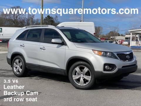 2012 Kia Sorento for sale at Town Square Motors in Lawrenceville GA