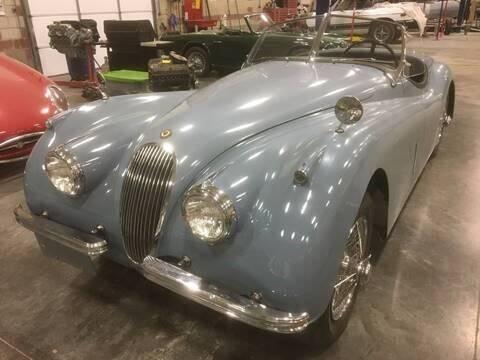 1953 Jaguar XK 120 for sale at Its Alive Automotive in Saint Louis MO