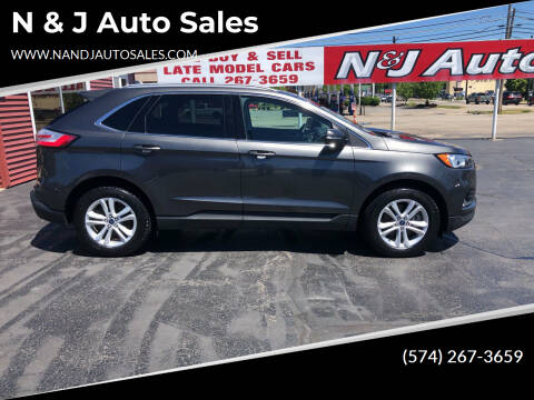 2020 Ford Edge for sale at N & J Auto Sales in Warsaw IN