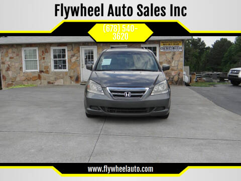 2007 Honda Odyssey for sale at Flywheel Auto Sales Inc in Woodstock GA