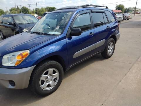 2004 Toyota RAV4 for sale at 4 B CAR CORNER in Anadarko OK