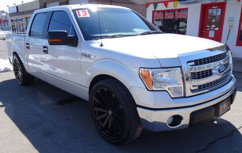 2013 Ford F-150 for sale at VISTA AUTO SALES in Longmont CO
