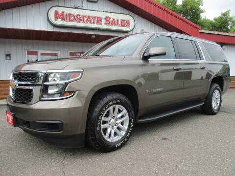 2016 Chevrolet Suburban for sale at Midstate Sales in Foley MN