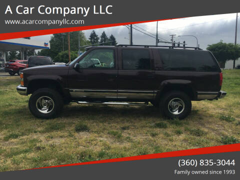 1997 Chevrolet Suburban for sale at A Car Company LLC in Washougal WA