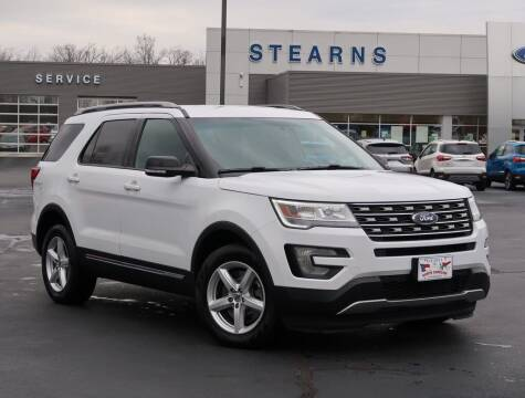 2016 Ford Explorer for sale at Stearns Ford in Burlington NC