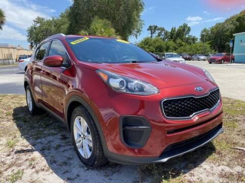 2017 Kia Sportage for sale at Palm Bay Motors in Palm Bay FL