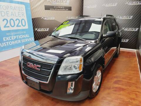 2012 GMC Terrain for sale at X Drive Auto Sales Inc. in Dearborn Heights MI