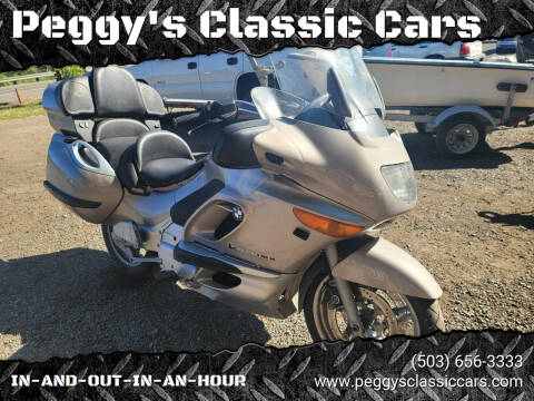 2000 BMW K1200GT for sale at Peggy's Classic Cars in Oregon City OR