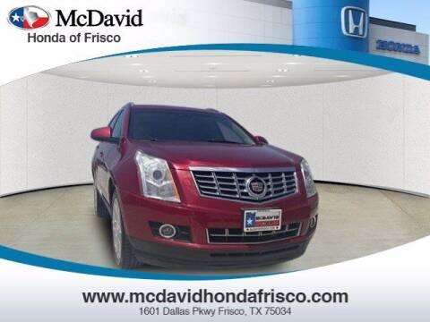 2013 Cadillac SRX for sale at DAVID McDAVID HONDA OF IRVING in Irving TX