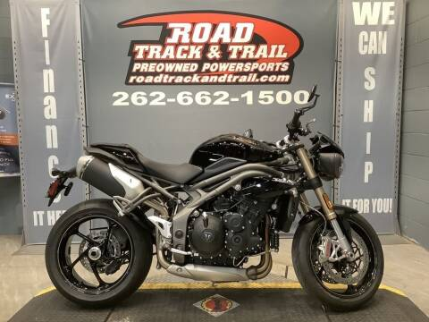 2019 Triumph Speed Triple S Jet Black for sale at Road Track and Trail in Big Bend WI