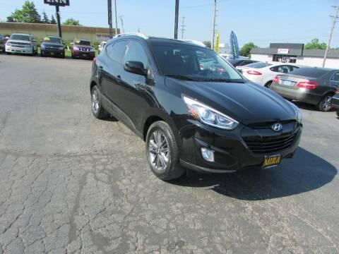2015 Hyundai Tucson for sale at MIRA AUTO SALES in Cincinnati OH
