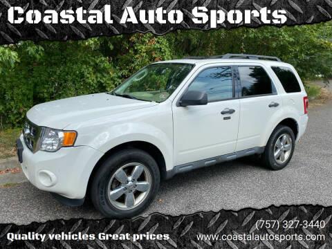 2012 Ford Escape for sale at Coastal Auto Sports in Chesapeake VA