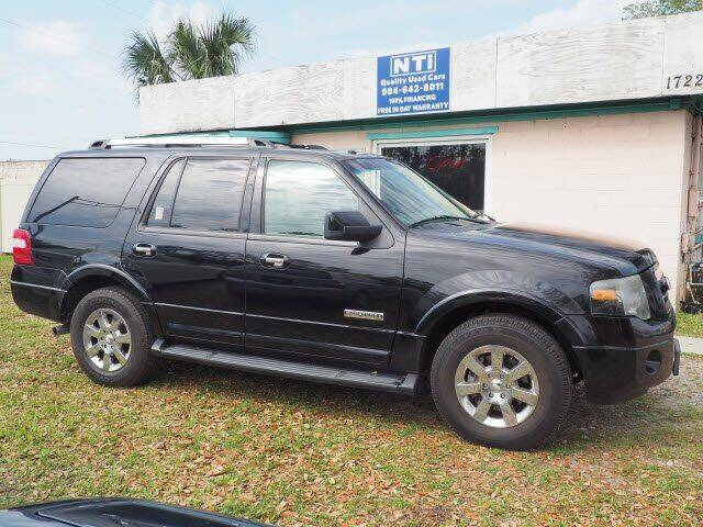 2008 Ford Expedition for sale at NETWORK TRANSPORTATION INC in Jacksonville FL
