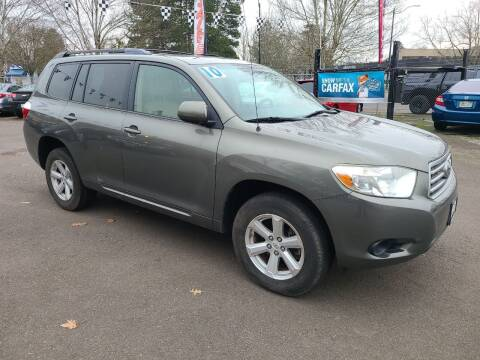 2010 Toyota Highlander for sale at Universal Auto Sales in Salem OR