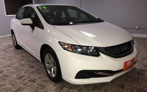 2014 Honda Civic for sale at TOP SHELF AUTOMOTIVE in Newark NJ