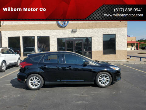 2017 Ford Focus for sale at Wilborn Motor Co in Fort Worth TX